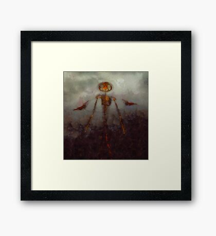 It Came From Hell by Sarah Kirk Framed Print