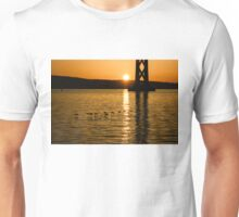 San Francisco Bay Bridge Sunrise Unisex T-Shirt