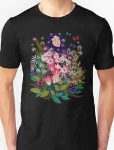 Floral Dream in Green Unisex T-Shirt