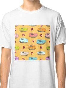 Donuts pattern Classic T-Shirt