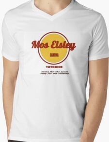 The Cantina at Mos Eisley Spaceport Mens V-Neck T-Shirt