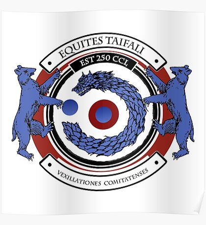 Equites Taifali - Coat of Arms Poster