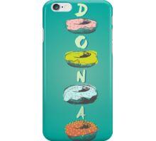 Donuts illustration iPhone Case/Skin
