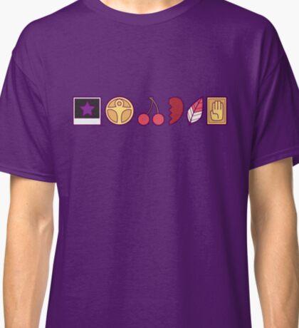 Team Joestar Symbols [Color Ver.] Classic T-Shirt