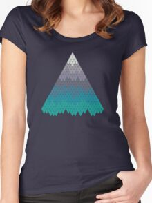 Many Mountains Women's Fitted Scoop T-Shirt