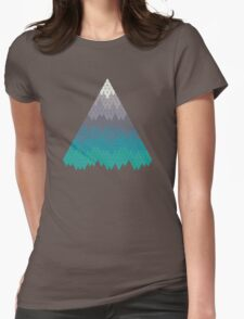 Many Mountains Womens Fitted T-Shirt