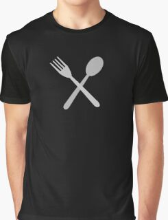 Fork & Spoon Graphic T-Shirt