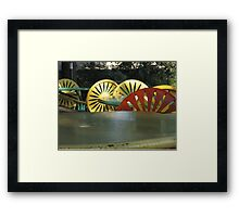 Memorial Union Chairs Framed Print