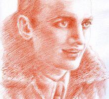 Luciano Consonni portrait by Francesca Romana Brogani