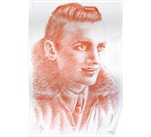 Luciano Consonni portrait Poster