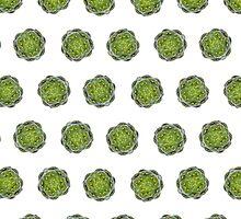 Artichoke pattern by ONiONAstudio