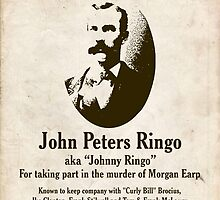 Johnny Ringo Wanted Poster by kayve