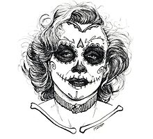Marily Moroe - Day of the Dead by hasanabbas