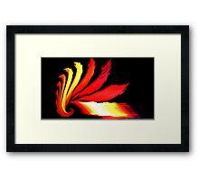 Mars Spiral Framed Print
