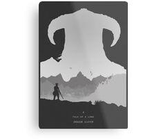 A Tale of a Lone Dragon Slayer Metal Print