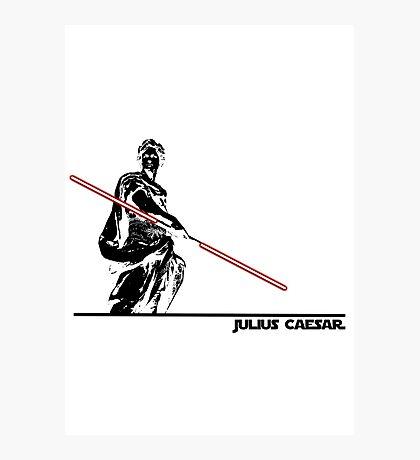 Star Wars: Julius Caesar - Black Ink Photographic Print