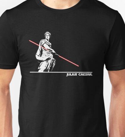Star Wars: Julius Caesar - White Ink Unisex T-Shirt