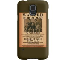 The Wild Bunch Wanted Poster Samsung Galaxy Case/Skin