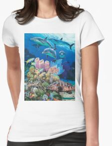 Scenic Route Womens Fitted T-Shirt