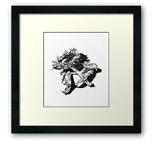 Decay - Sunflower Framed Print