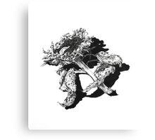 Decay - Sunflower Canvas Print