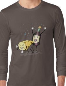 Cheese & Whine Party Long Sleeve T-Shirt