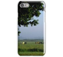 Cows in the Mist iPhone Case/Skin