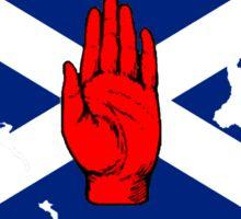 Ulster Cross Sticker