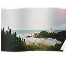 New Zealand Lighthouse Poster