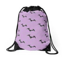 Bats Drawstring Bag