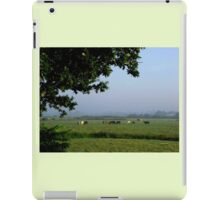 Cows in the Mist iPad Case/Skin
