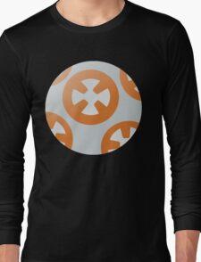 Simple BB8 Circle Design Long Sleeve T-Shirt