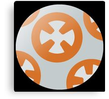 Simple BB8 Circle Design Canvas Print