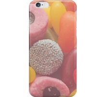 Sweet treat print 3 - pastel colours, all candy! iPhone Case/Skin