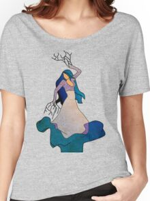 Water _ The Dancing Woman Willow Women's Relaxed Fit T-Shirt