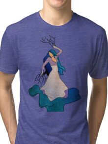 Water _ The Dancing Woman Willow Tri-blend T-Shirt