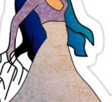 Water _ The Dancing Woman Willow Sticker