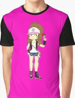 Pokemon Trainer Hilda Graphic T-Shirt