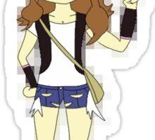 Pokemon Trainer Hilda Sticker