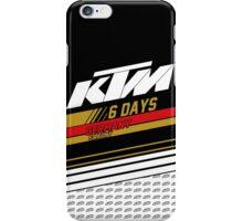 Sixdays Germany Saxony iPhone Case/Skin