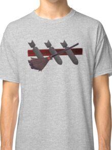 Three Bombs, One Broom Classic T-Shirt