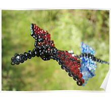Fly by wire (beaded dragon) Poster