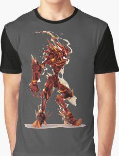 SteamPunk The Flash Graphic T-Shirt