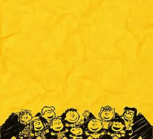 Charlie Brown y sus amigos by evotrip