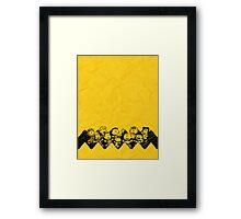 Charlie Brown y sus amigos Framed Print