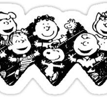 Charlie Brown y sus amigos Sticker