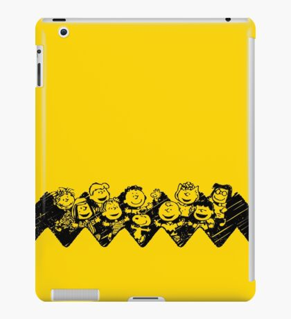 Charlie Brown y sus amigos iPad Case/Skin