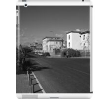 Ostia seafront: street view and buildings iPad Case/Skin