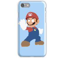 Simplistic Mario  iPhone Case/Skin