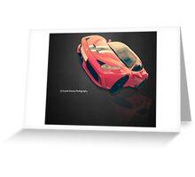 Super Car Greeting Card